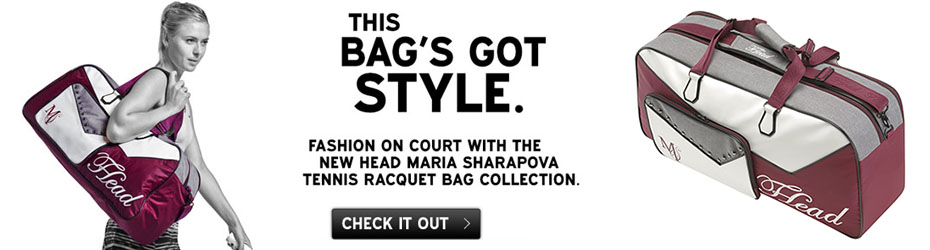 Maria Sharapova Tennis Bag