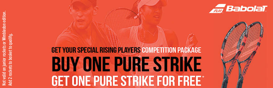 Babolat Pure Strike Buy One Get One Free