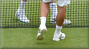 Grass Court (with pimples) and Omni Shoes for Artificial Grass