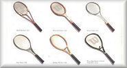 Evolution of  Tennis Rackets