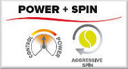 Wilson Power & Spin Rackets (Steam and Juice Ranges)
