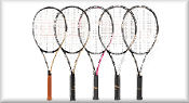 Tennis Rackets - All Brands