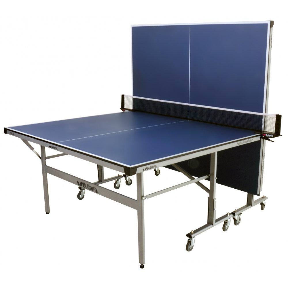 Butterfly easifold deluxe outdoor table tennis table for Table tennis 99