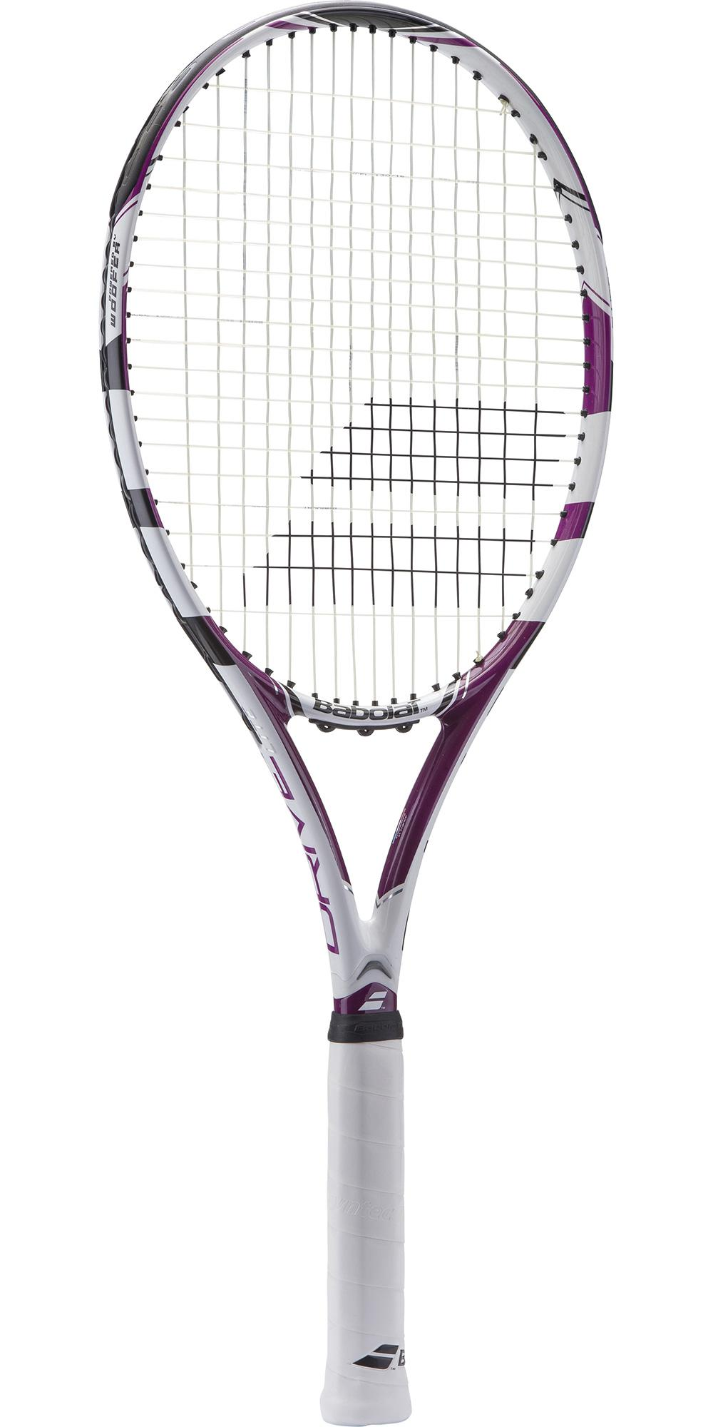 babolat drive lite tennis racket white purple. Black Bedroom Furniture Sets. Home Design Ideas