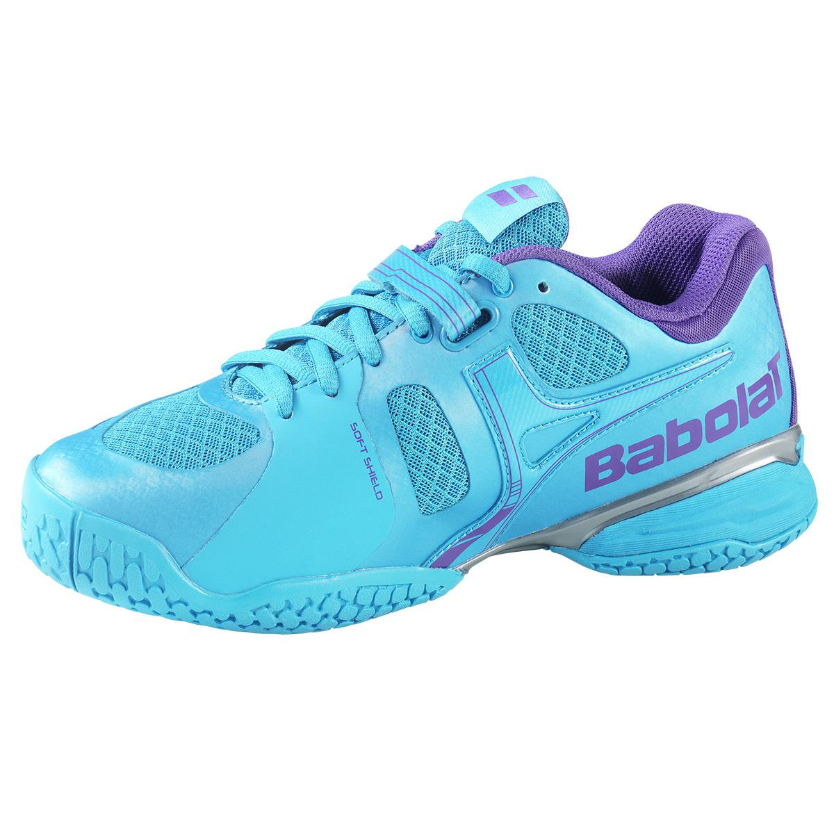 Babolat Womens Propulse 4 Tennis Shoes - Blue