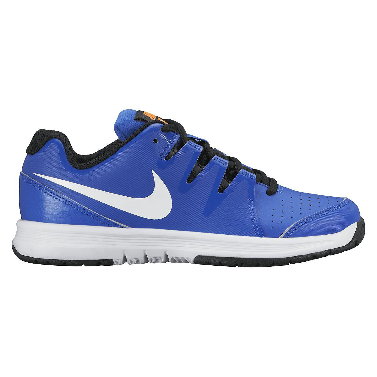 nike boys vapor court gs tennis shoes royal white