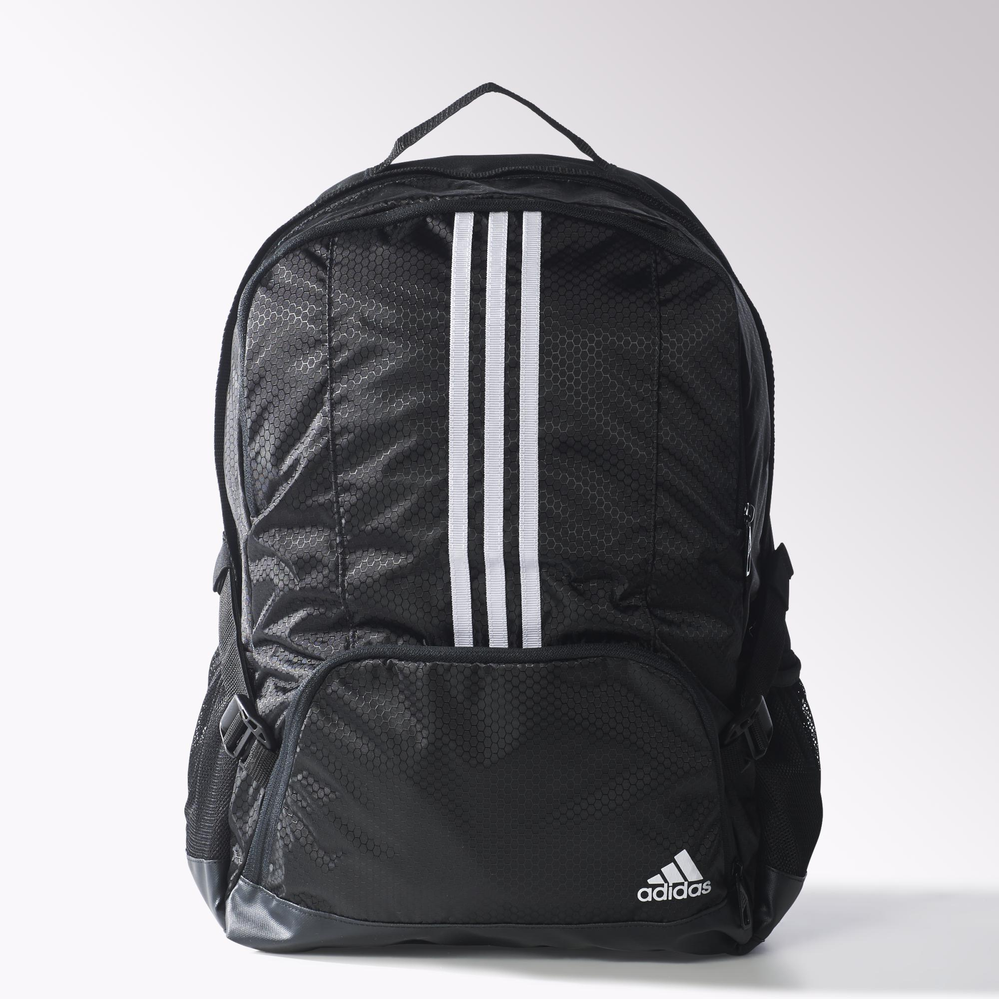 Adidas 3 Stripes Performance Backpack Black White