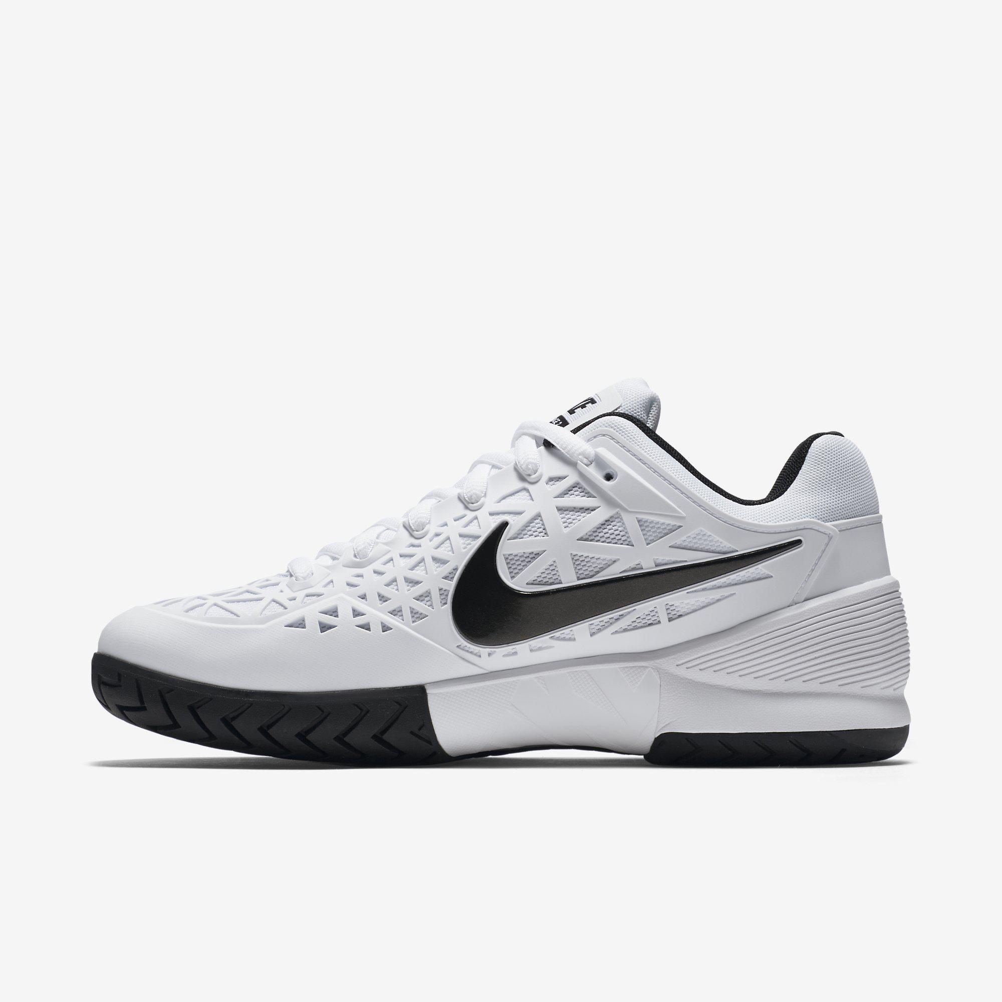 White Mens Nike Tennis Shoes