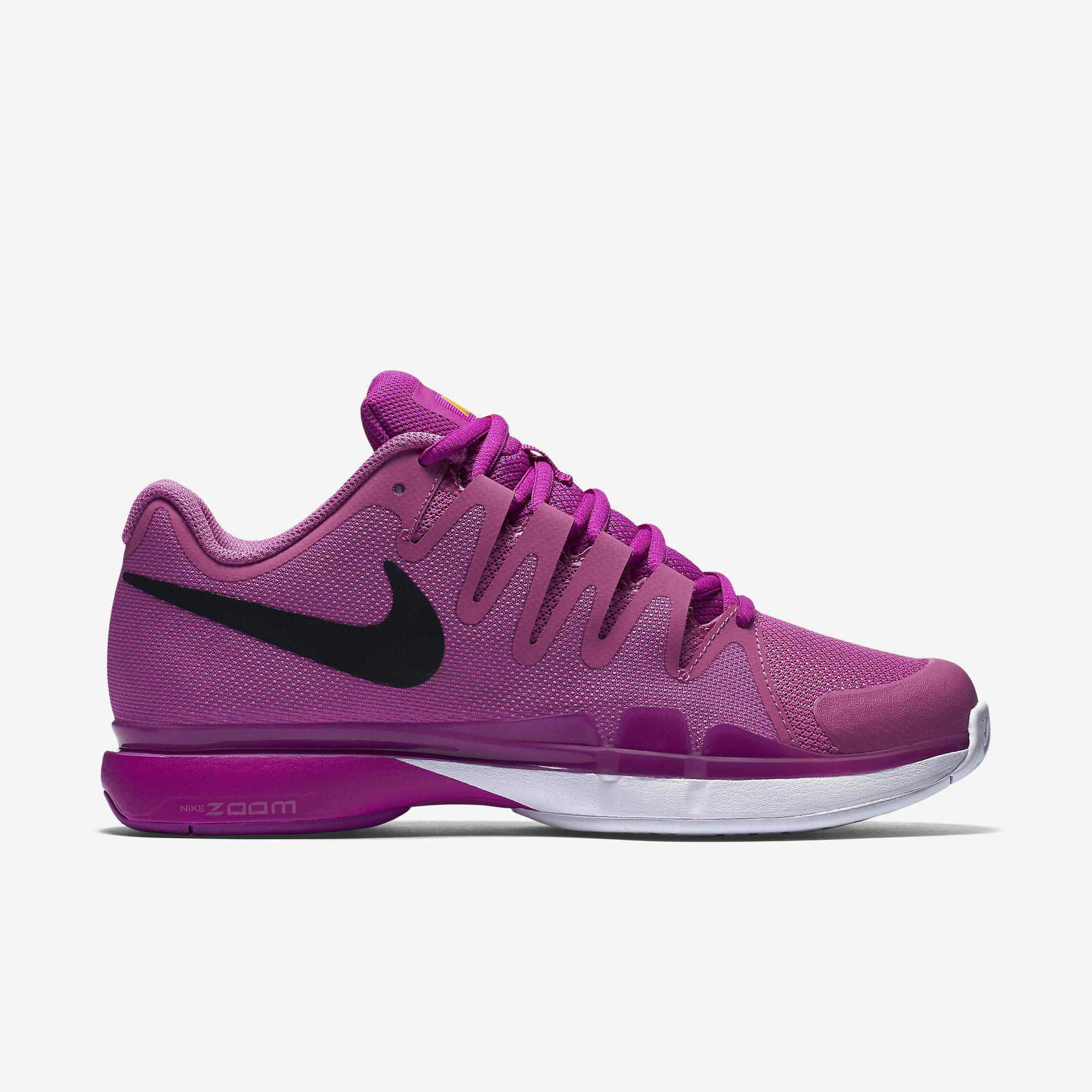 nike womens zoom vapor 95 tennis shoes purple
