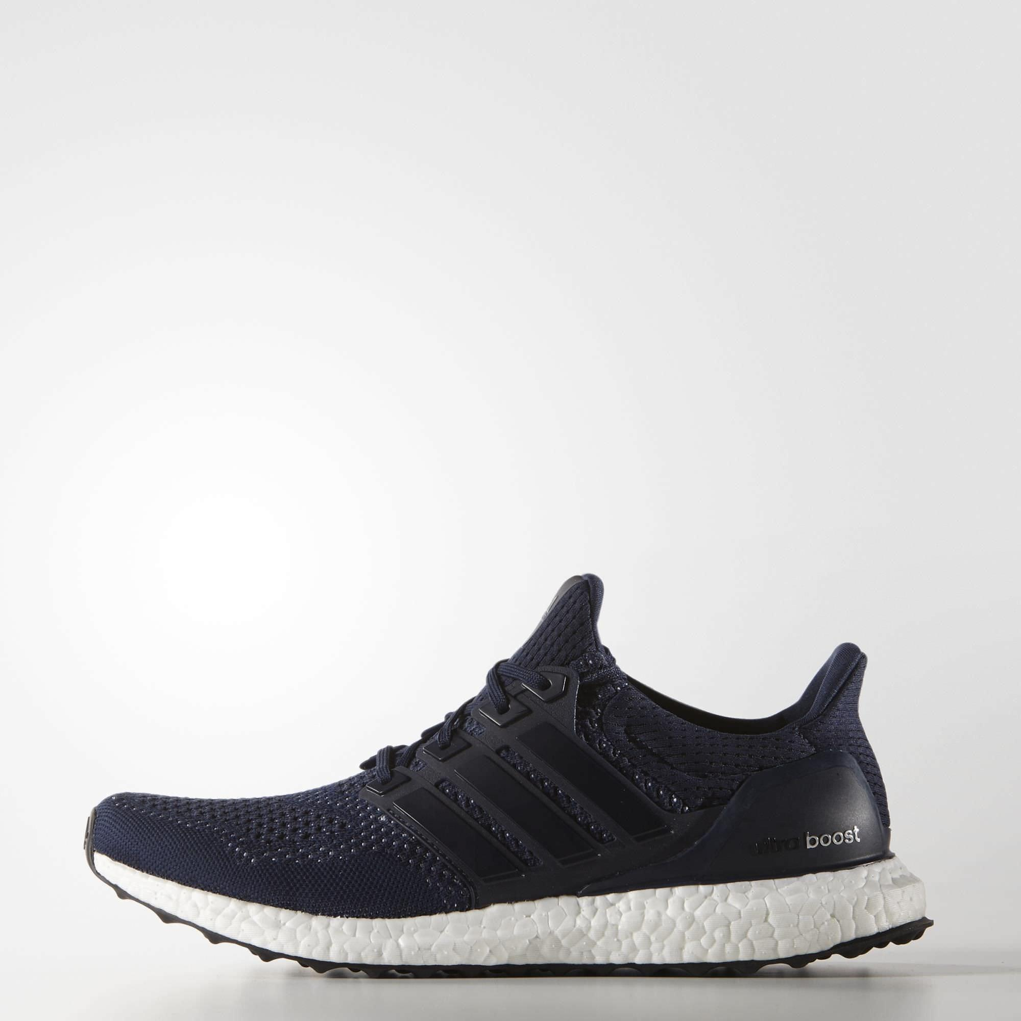 Adidas Mens Ultra Boost Running Shoes - Collegiate Navy