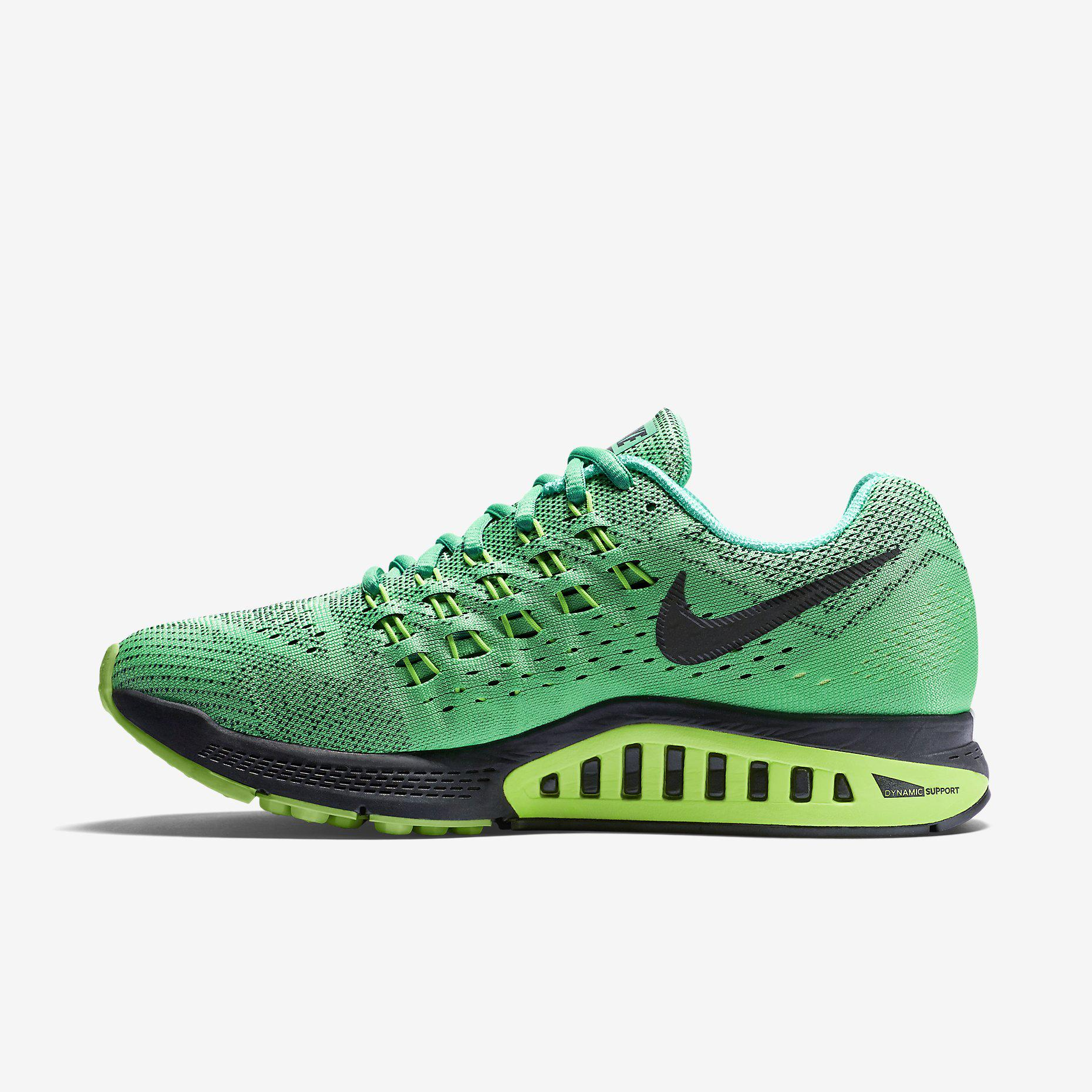 nike womens air zoom structure 18 running shoes menta. Black Bedroom Furniture Sets. Home Design Ideas