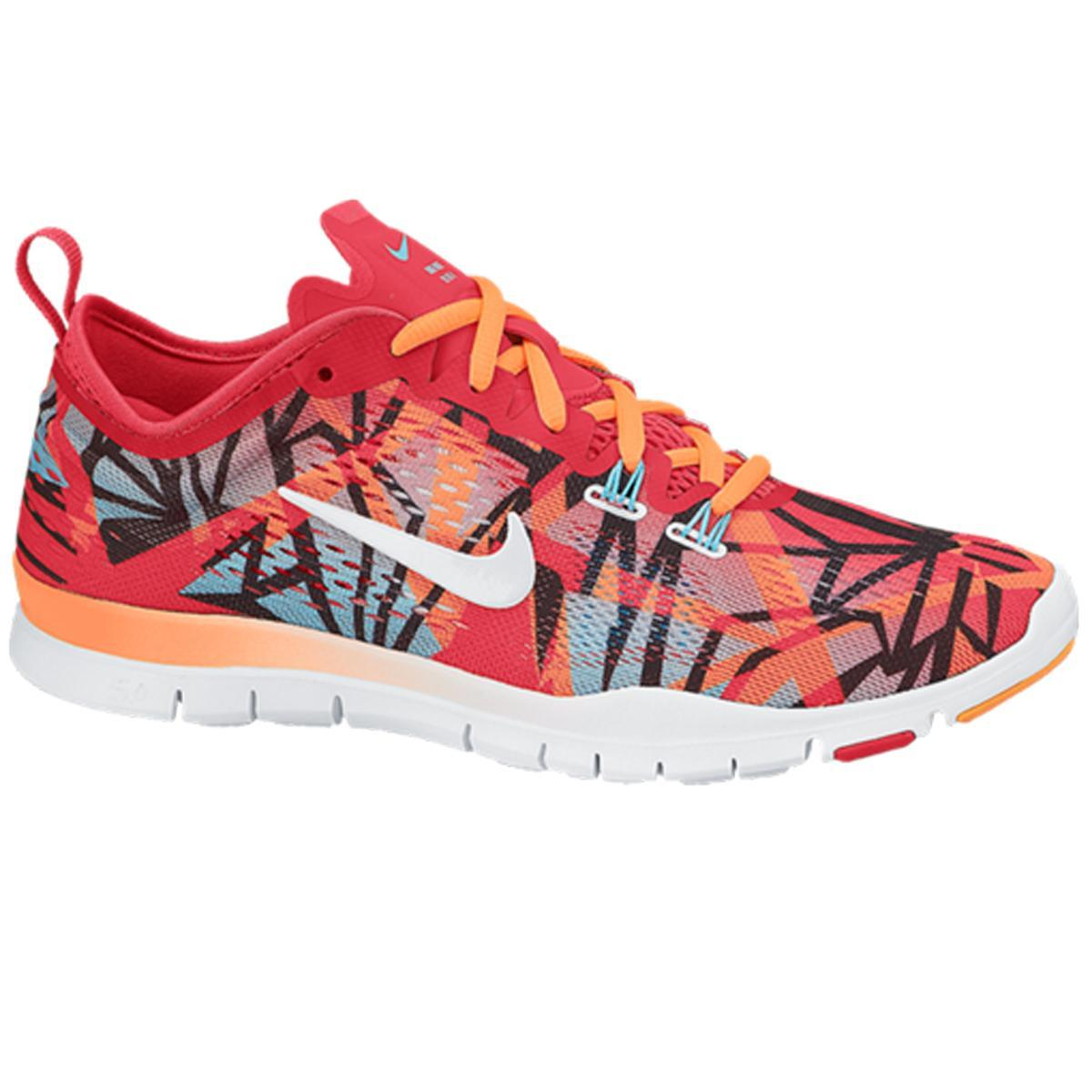 nike womens free 5 0 tr fit 4 print training shoes. Black Bedroom Furniture Sets. Home Design Ideas
