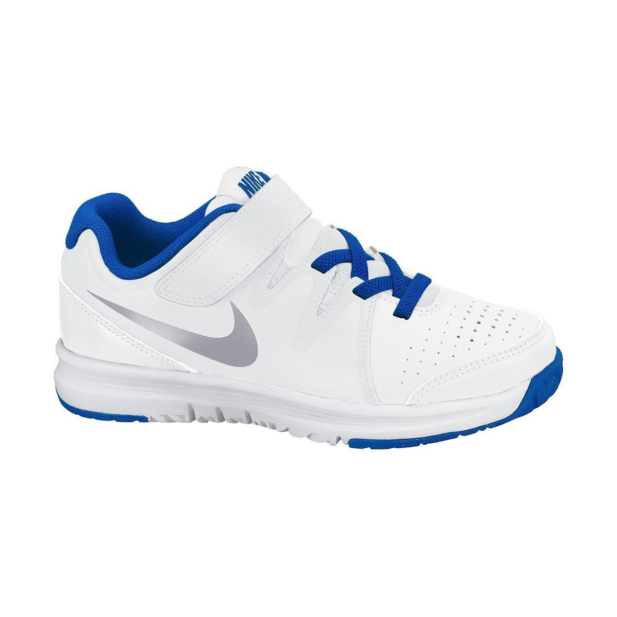 nike boys vapor court tennis shoes white lyon