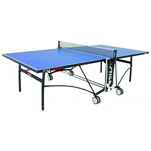 Stiga style 5mm outdoor table tennis table blue - Stiga outdoor table tennis table ...