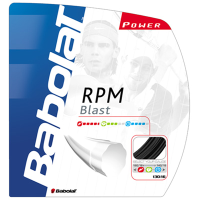 Babolat RPM Blast Tennis Strings Sets : Black (1.20mm/1.25mm/1.30mm)