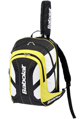 Babolat Club Line Backpack- Black/Yellow
