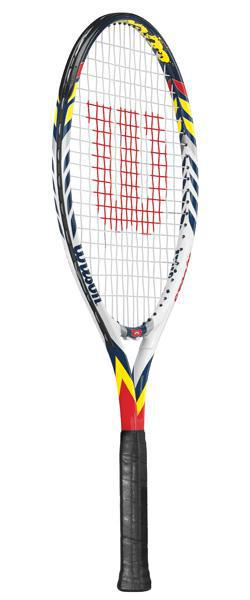 Wilson Steam 25 Junior Tennis Racket (Aluminium)