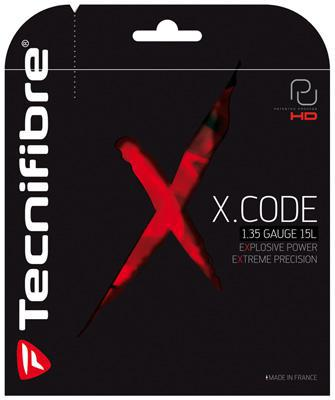Tecnifibre X-Code Tennis String Sets (Black)