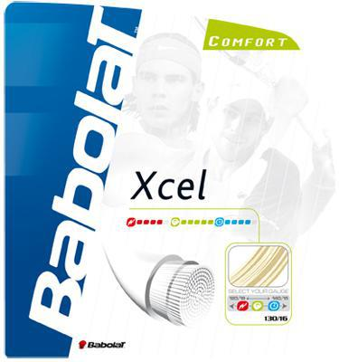 Babolat Xcel Strings 125 130 and 135  Sets - Natural