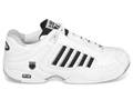 K-Swiss Mens Defier RS Tennis Shoes- White/Black