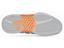 K-Swiss Mens BigShot Tennis Shoes- Silver / Charcoal / Neon Orange