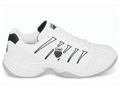 K-Swiss Grancourt II Indoor Carpet Tennis Shoes- White/Black