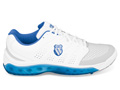 K-Swiss Mens Tubes 100 Omni Tennis Shoes- White/blue