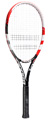 Babolat Pulsion 102 Red Tennis Racket- Black/Red