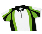 Head ICS Competition Zip Polo- White/Green