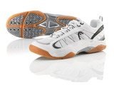 Head Men Laser Indoor Shoes: White/Black