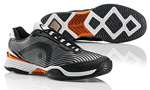 Head Mens Speed Pro III Tennis Shoes- Black/White/Copper