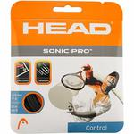 Head Sonic Pro Tennis String- BLACK (Sets and Reels)