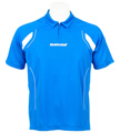 Babolat Mens Club Polo- Blue/White