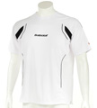 Babolat Mens Club Tee- White/Black
