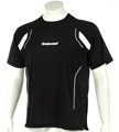 Babolat Mens Club Tee- Black/White