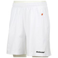 Babolat Mens Club Shorts- White/Black