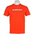 Babolat Mens Training Tee - Orange