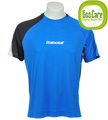 Babolat Mens Performance Tee- Blue/Black