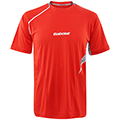 Babolat Mens Performance Tee- Orange