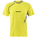 Babolat Mens Performance Tee- Yellow