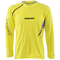 Babolat Mens Performance Long Sleeve Tee- Yellow