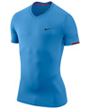 Nike Mens RF Hard Court Crew- Universirty Blue/Obsidian/Red