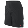 Nike Mens Power Court Shorts- Black/Sunburst