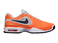 Nike Mens Air Max CourtBallistec 4.3 Tennis Shoes - Total Orange / Squadron Blue / White