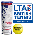 Babolat Team Tennis Balls (3 Ball Can): Quantity Deals
