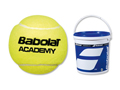 Babolat Academy Trainer Ball: Bucket of 6 Dz