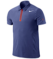 Nike Mens Premier RF Polo- Deep Royal/White