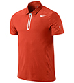 Nike Mens Premier RF Polo- Team Orange/White