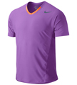 Nike Mens Premier Rafa Crew- Atomic Purple/Total Orange/Squadron Blue