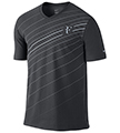Nike Mens RF Tee- Anthracite